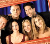 Una storica foto di Friends