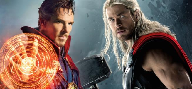 Benedict Cumberbatch e Chris Hemsworth reciteranno insieme