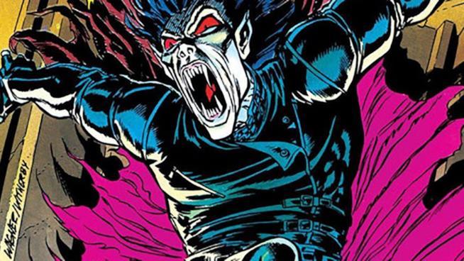 Un artwork Marvel dedicato a Morbius