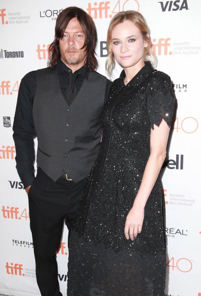 Girano voci su una storia tra Norman Reedus e Diane Kruger