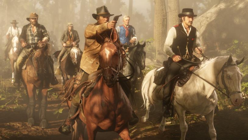 Red Dead Redemption 2 offre una modalità online come GTA V