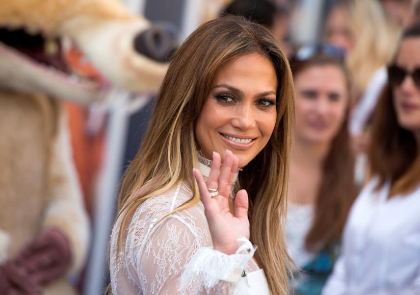 Primo piano di Jennifer Lopez