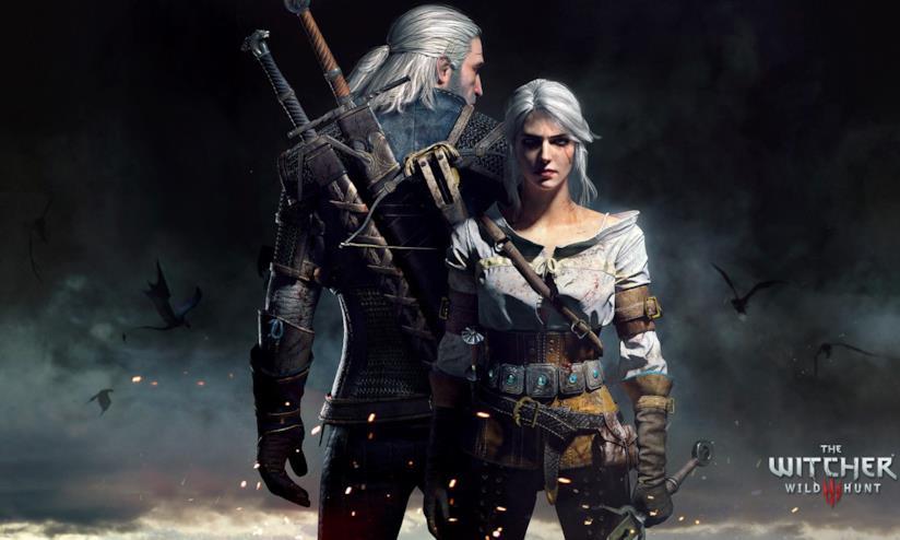The Witcher Geralt e Ciri