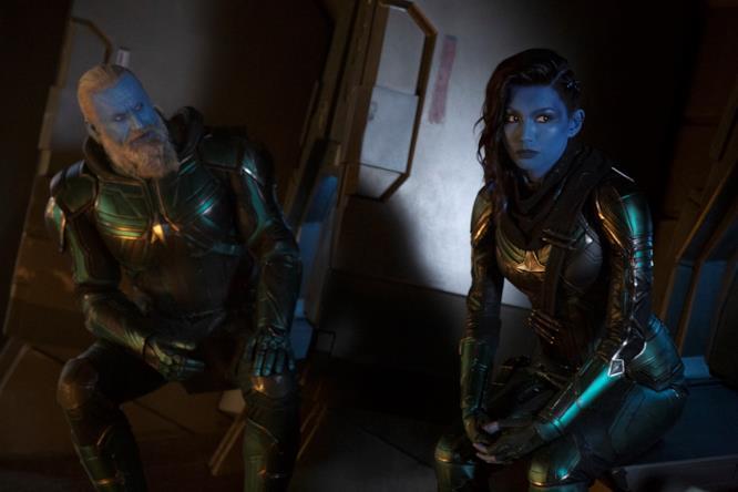Bron-Char e Minn-Erva in Captain Marvel