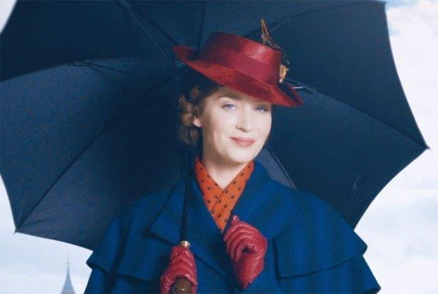 Emily Blunt in Mary Poppins 2