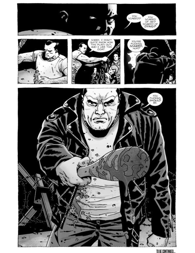 Una tavola di Here's Negan #14