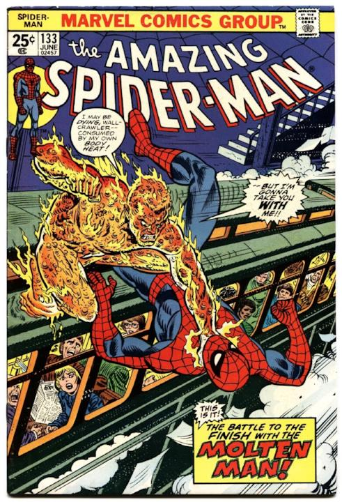 Copertina di un numero della serie The Amazing Spider-Man di Marvel Comics