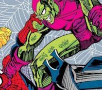 Spider-Man e Goblin ritratti sulla copertina del volume