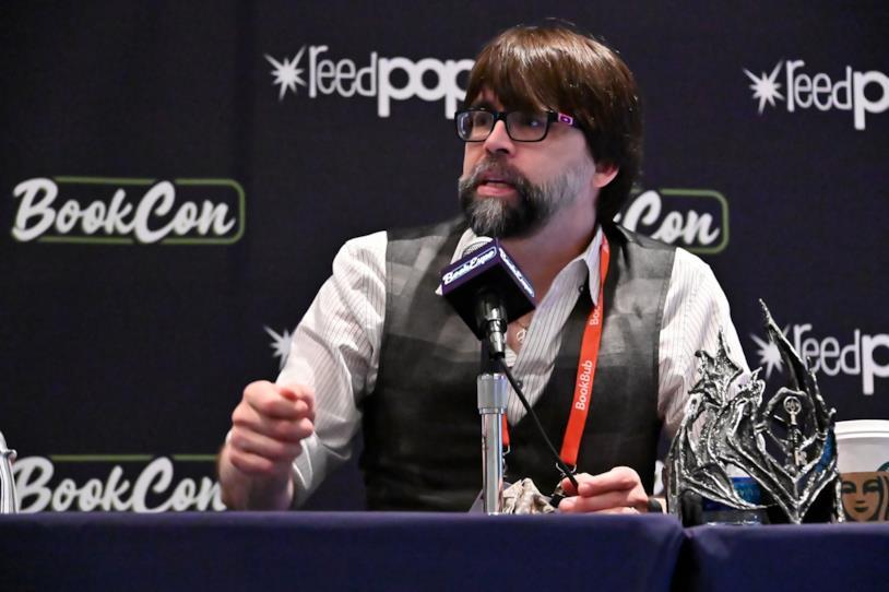 Lo scrittore Joe Hill, figlio di Stephen King