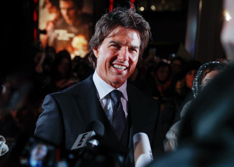 Primo piano di Tom Cruise