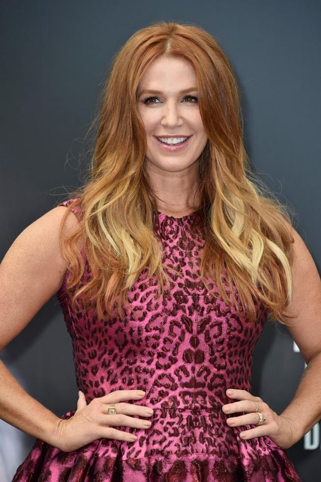 Poppy Montgomery in primo piano