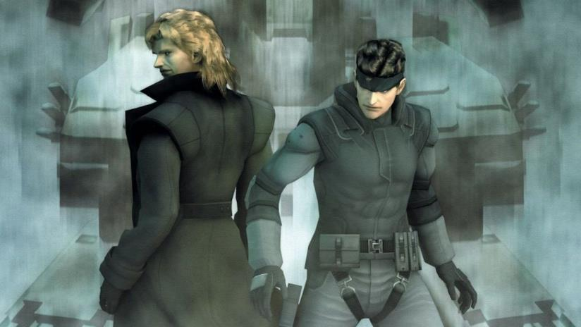 I due protagonisti di Metal Gear Solid: The Twin Snakes