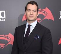 Henry Cavill alla prima di Batman v Superman