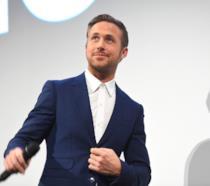 L'attore Ryan Gosling in posa