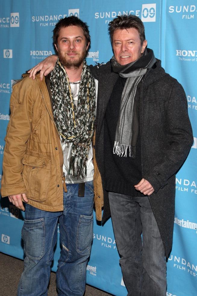 David Bowie con il figlio Duncan