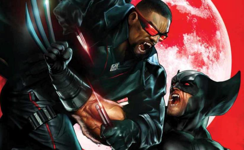 Lo scontro tra Wolverine e Blade sulla pagine dei fumetti Marvel
