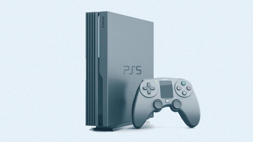 Concept di PlayStation 5 e DualShock 5