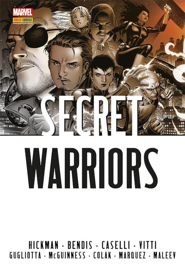 La cover dell'Omnibus di Secret Warriors