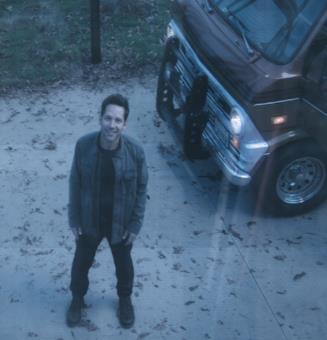 Paul Rudd in una scena di Avengers: Endgame