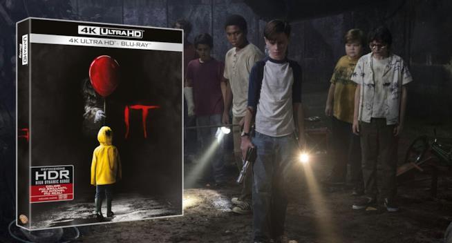 La cover 4K dell'edizione Home Video di IT