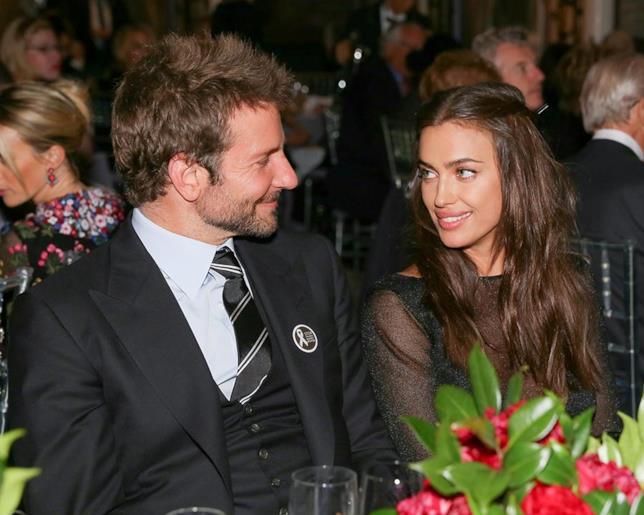 Bradley Cooper e Irina Shayk in una delle loro rare apparizioni pubbliche