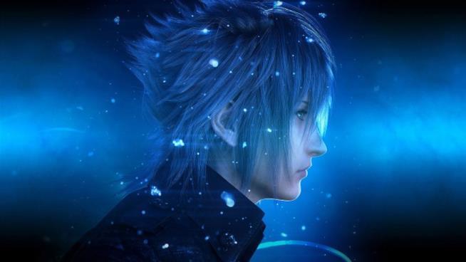 Il profilo di Noctis, protagonista di Final Fantasy XV