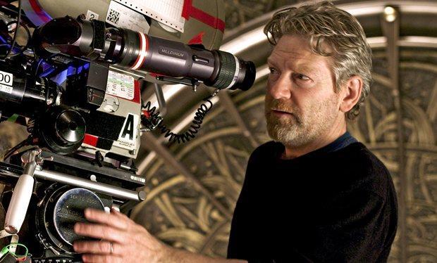 Il regista Kenneth Branagh