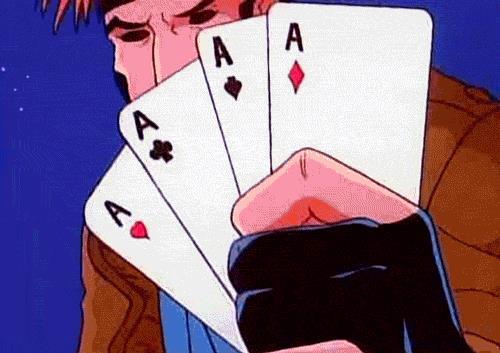 Gambit e il gioco d'azzardo
