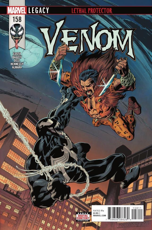 Kraven il cacciatore il lotta contro Venom