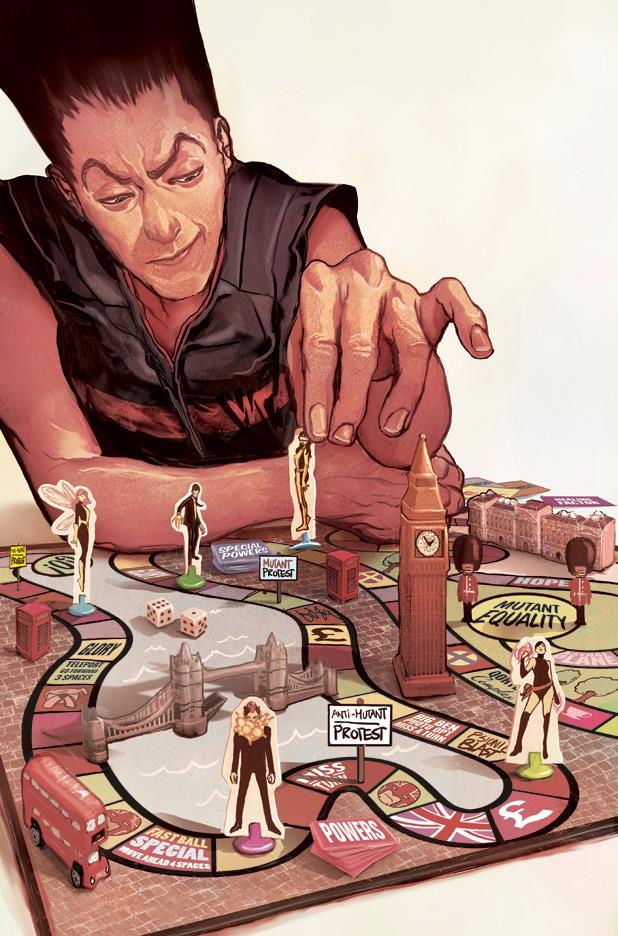 Legione sulla copertina di X-Men: Legacy Vol 2 #14
