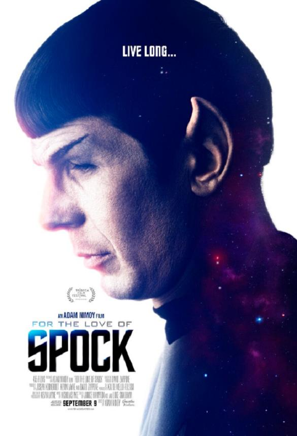 Il poster del documentario For the Love of Spock