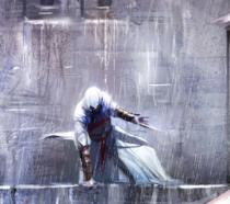 Un artwork del mitico Altair da Assassin's Creed