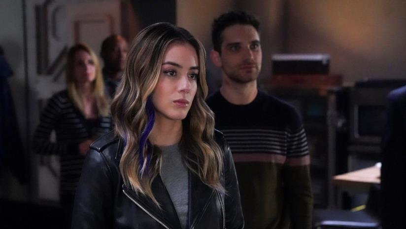 Daisy in una scena dell'episodio 6x9 di Agents of S.H.I.E.L.D.