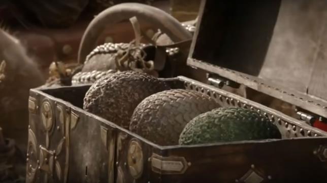 GoT 1x01: le uova di drago regalate a Daenerys