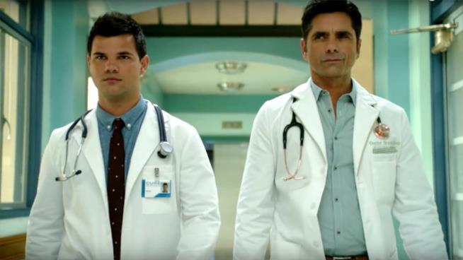 I dottori Cassidy Cascade e Brock Holt di Scream Queens