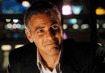 Il sorriso disarmante di George Clooney