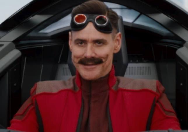 Jim Carrey Sonic the Hedgehog villain