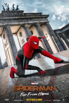 Spider-Man di fronte alla Porta di Brandeburgo