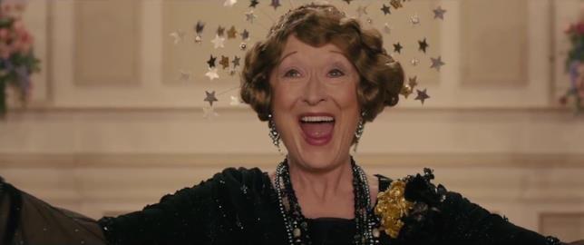 L'attrice premio Oscar in una scena del film Florence Foster Jenkins