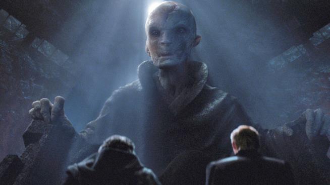 Il supremo leader Snoke