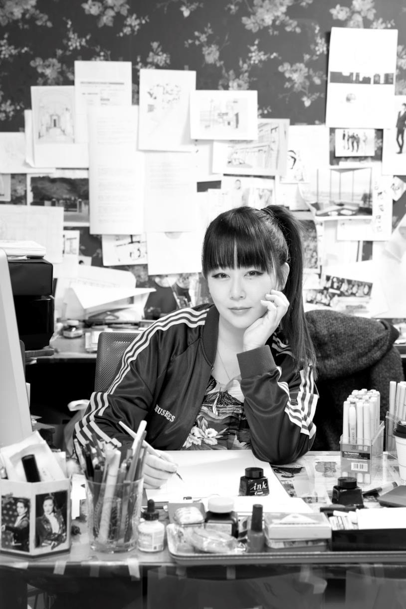 Un ritratto di Akiko Higashimura