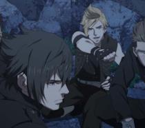 I protagonisti di FFXV in azione nell'anime Brotherhood