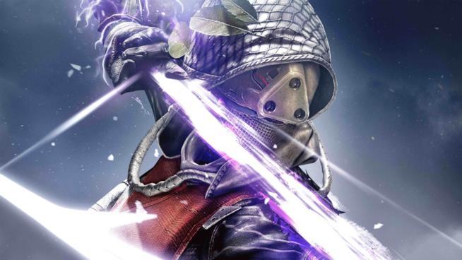 Un Cacciatore di Destiny scocca la sua Freccia dell'Ombra