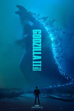 Godzilla nel poster di Godzilla: King of the Monsters