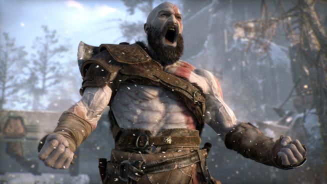 L'urlo di Kratos in God of War