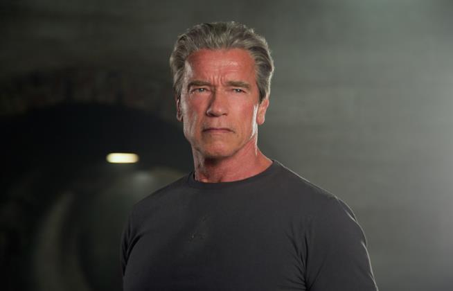Arnold Schwarzenegger è l'invecchiato T-800 in Terminator: Genisys