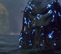 Il Predator in azione in una scena del film