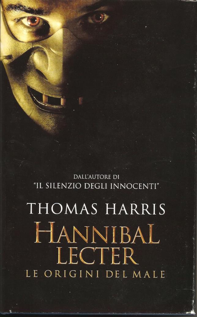 La copertina di Hannibal Lecter - Le origini del male