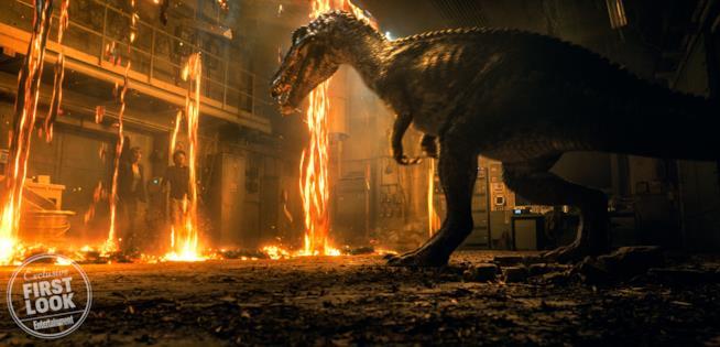 Il barionice (baryonyz) in Jurassic World 2
