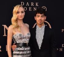 Sophie Turner e Joe Jonas alla premiere di Dark Phoenix